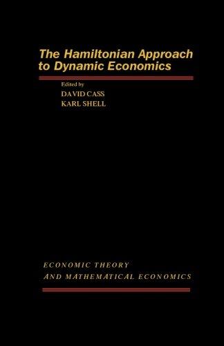 9781483237053: The Hamiltonian Approach to Dynamic Economics