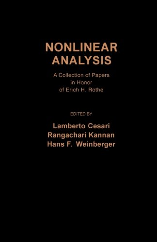 9781483237114: Nonlinear Analysis