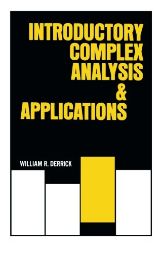 9781483238074: Introductory Complex and Analysis Applications