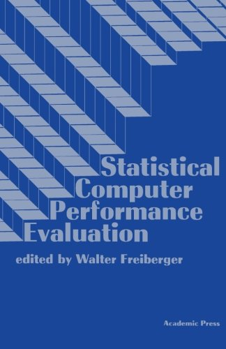 9781483239071: Statistical Computer Performance Evaluation