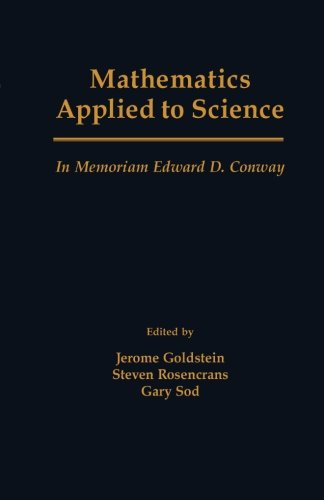 9781483239569: Mathematics Applied to Science: In Memoriam Edward D. Conway