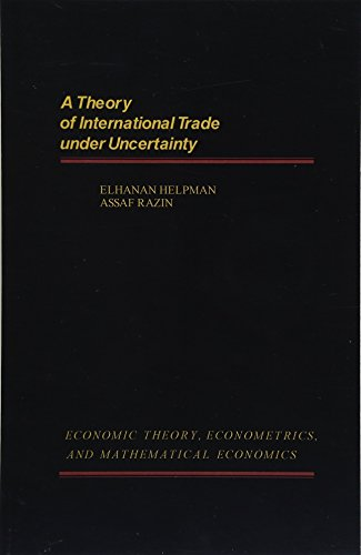 9781483240503: A Theory of International Trade Under Uncertainty