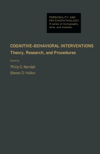 9781483241593: Cognitive-Behavioral Interventions: Theory, Research, and Procedures