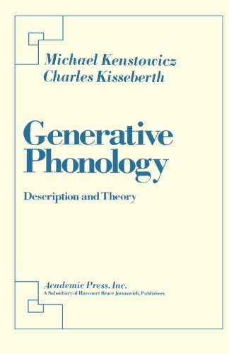 9781483241661: Generative Phonology: Description and Theory