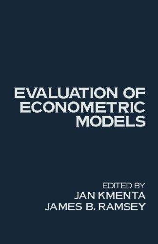 9781483241753: Evaluation of Econometric Models