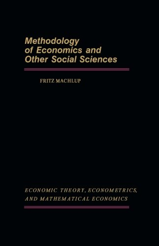 9781483243054: Methodology of Economics and Other Social Sciences