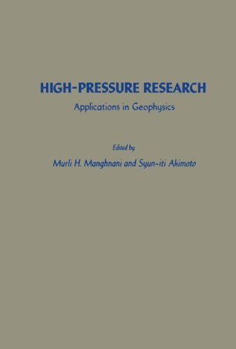 9781483243122: High-Pressure Research: Applications in Geophysics