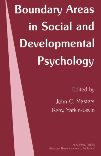 9781483243337: Boundary Areas in Social and Developmental Psychology