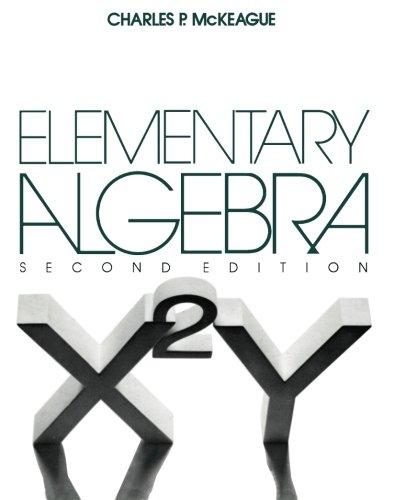 9781483243399: Elementary Algebra