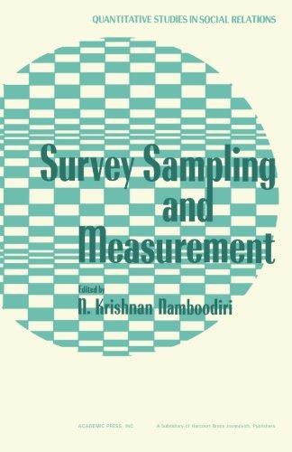 9781483243931: Survey Sampling and Measurement