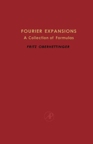 9781483244204: Fourier Expansions: A Collection of Formulas