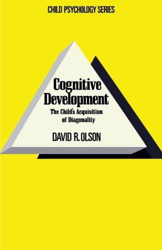 9781483244242: Cognitive Development: The Child's Acquisition of Diagonality