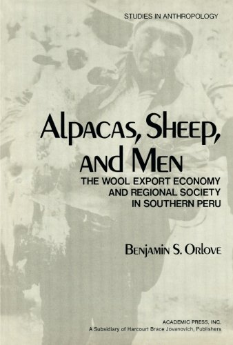 9781483244303: Alpacas, Sheep, and Men: The Wool Export Economy and Regional Society in Southern Peru