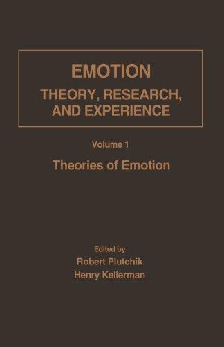 9781483244815: Theories of Emotion (Volume 1)