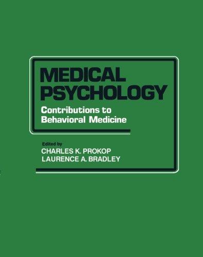 9781483244983: Medical Psychology: Contributions to Behavioral Medicine