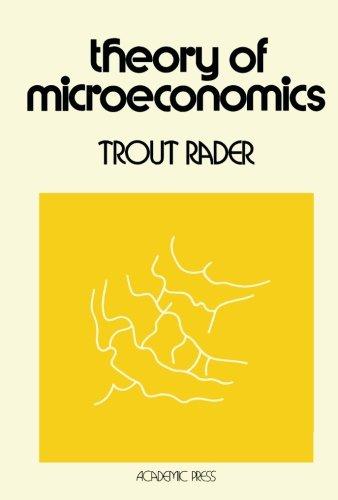 9781483245119: Theory of Microeconomics