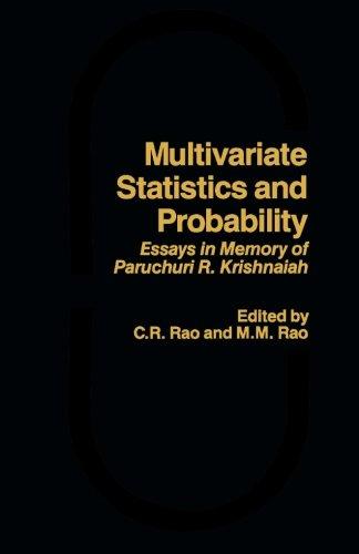 9781483245157: Multivariate Statistics and Probability: Essays in Memory of Paruchuri R. Krishnaiah