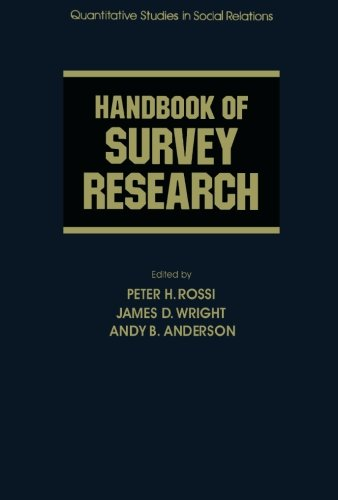 9781483245737: Handbook of Survey Research