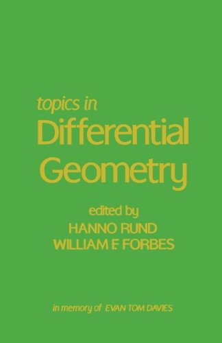 9781483245928: Topics in Differential Geometry