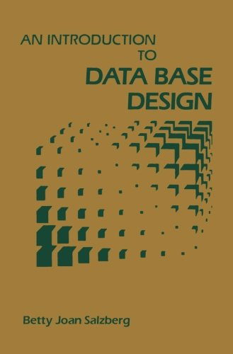 9781483246086: An Introduction to Data Base Design