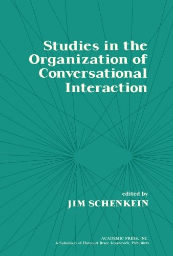 9781483246222: Studies in the Organization of Conversational Interaction