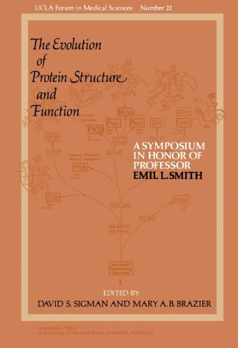 9781483246604: The Evolution of Protein Structure and Function: A Symposium in Honor of Professor Emil L. Smith (Volume 21)