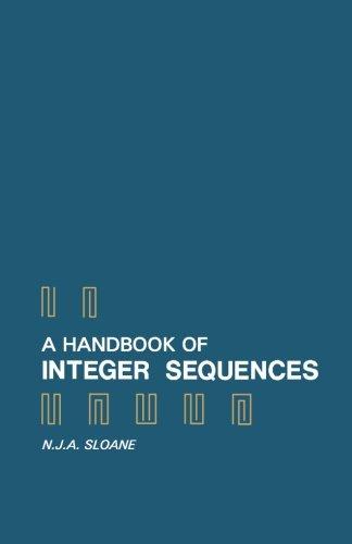 9781483246659: A Handbook of Integer Sequences
