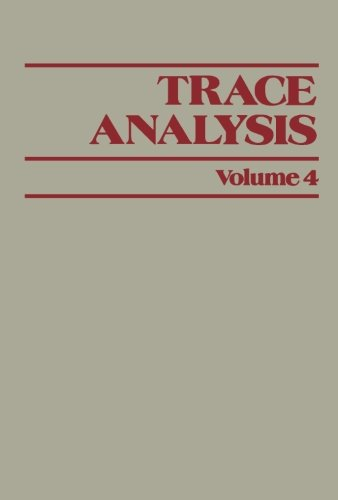 9781483247328: Trace Analysis: Volume 4