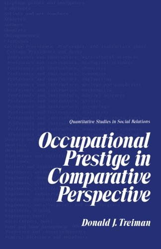 9781483247670: Occupational Prestige in Comparative Perspective
