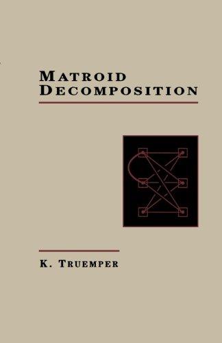 9781483247724: Matroid Decomposition