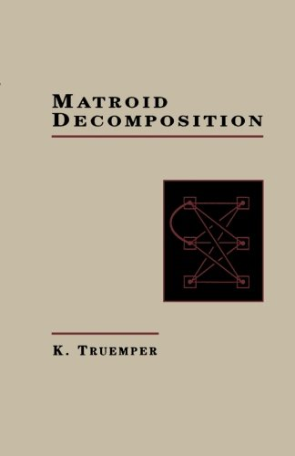 9781483247724: Matroid Decomposition