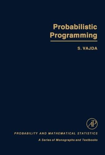9781483247861: Probabilistic Programming