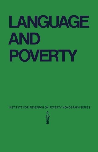 9781483248608: Language and Poverty: Perspectives on a Theme