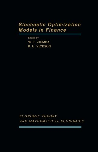 9781483248813: Stochastic Optimization Models in Finance