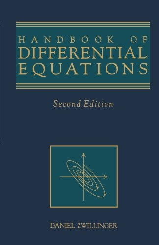9781483248882: Handbook of Differential Equations