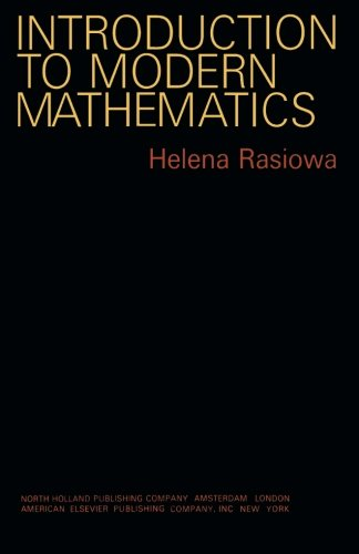 9781483249940: Introduction to Modern Mathematics