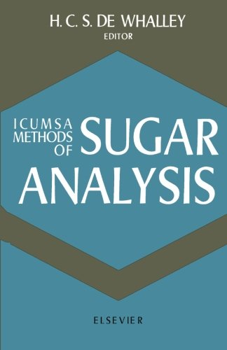 ICUMSA Methods of Sugar Analysis: Official and