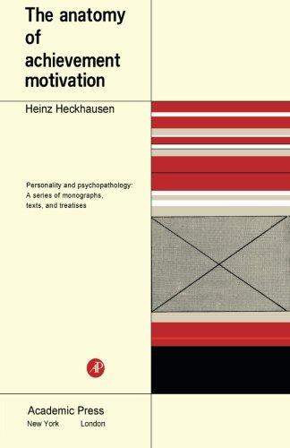 9781483253688: The Anatomy of Achievement Motivation