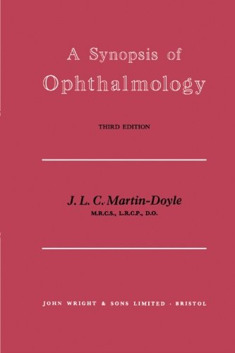 9781483283999: A Synopsis of Ophthalmology