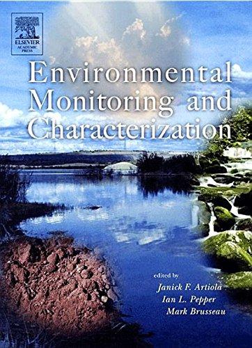 9781483299792: Environmental Monitoring and Characterization
