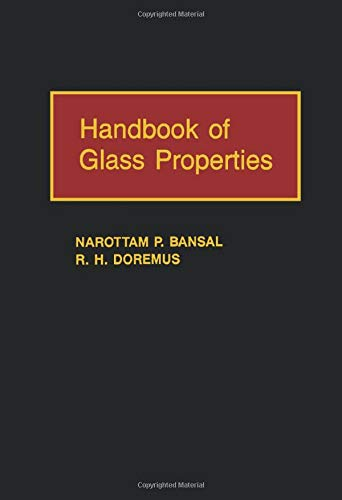 9781483299822: Handbook of Glass Properties