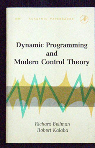 9781483299860: Dynamic Programming and Modern Control Theory