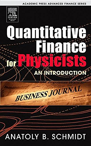 9781483299914: Quantitative Finance for Physicists: An Introduction