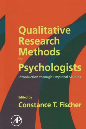 9781483299921: Qualitative Research Methods for Psychologists: Introduction through Empirical Studies