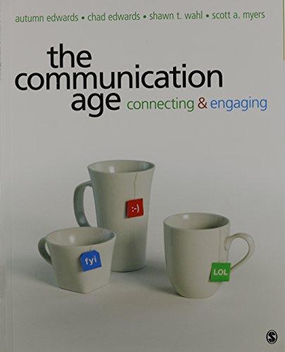 9781483304014: BUNDLE: Edwards: The Communication Age + IEB + SpeechPlanner