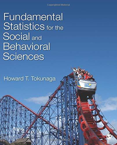 9781483318790: Fundamental Statistics for the Social and Behavioral Sciences