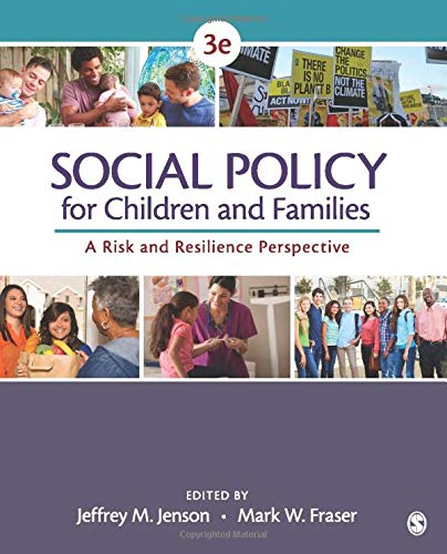 9781483344553: Social Policy for Children and Families: A Risk and Resilience Perspective: Volume 3