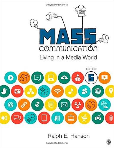 9781483344751: Mass Communication: Living in a Media World