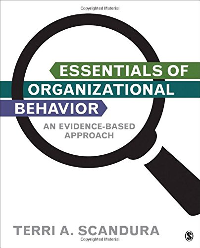 9781483345659: Essentials of Organizational Behavior: An Evidence-Based Approach