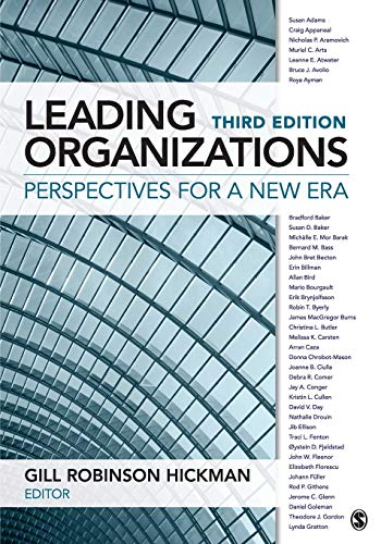 9781483346694: Leading Organizations: Perspectives for a New Era (NULL)